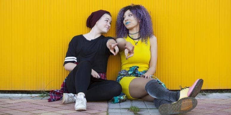 Trans teen couple