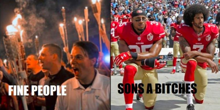 Take a Knee memes and tweets
