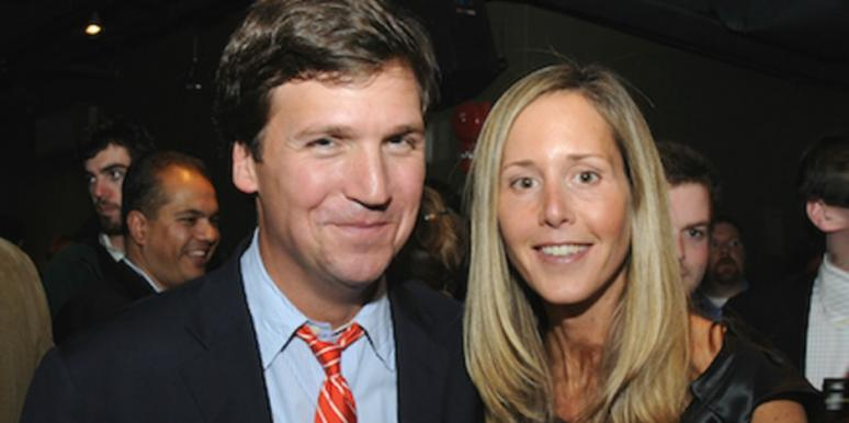 Image result for tucker carlson and wife pictures