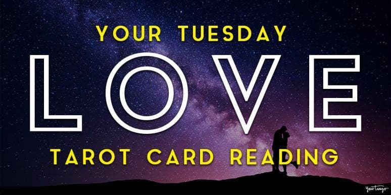 Today's Love Horoscopes + Tarot Card Readings For All Zodiac Signs On Tuesday, April 14, 2020