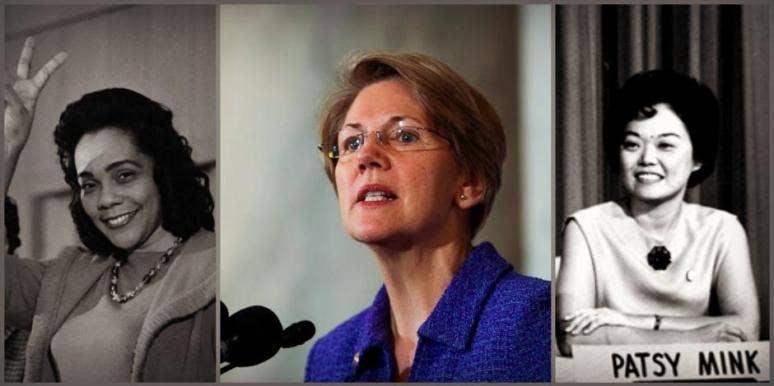 elizabeth warren women who persisted