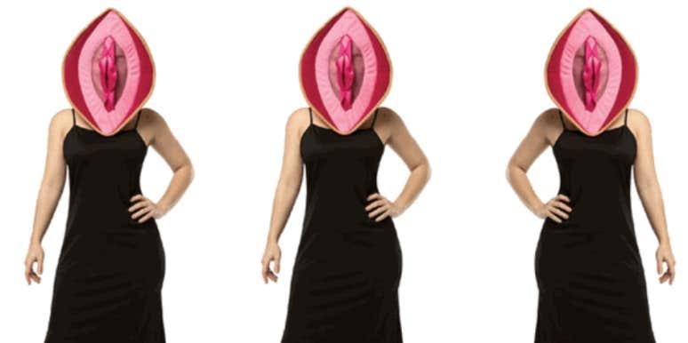 vagina, halloween costume