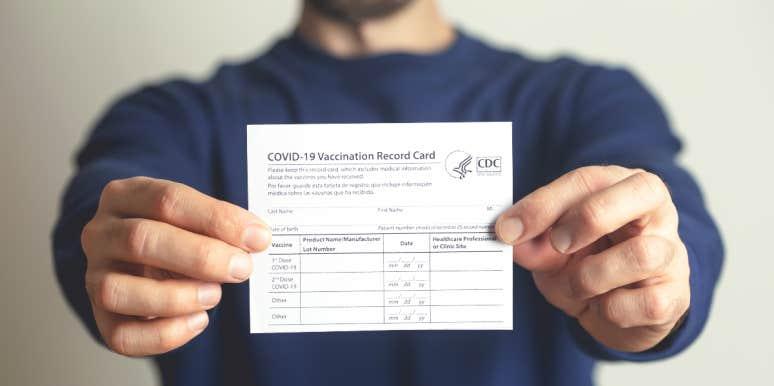 vaccination card covid 19 fake
