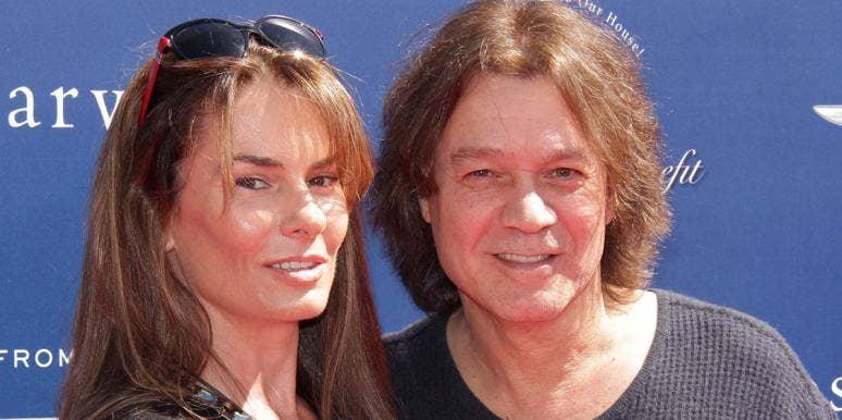Janie Liszewski and Eddie Van Halen