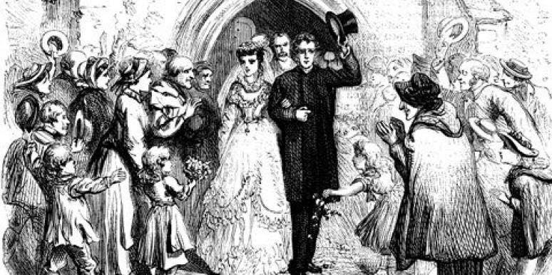 victorian era wedding