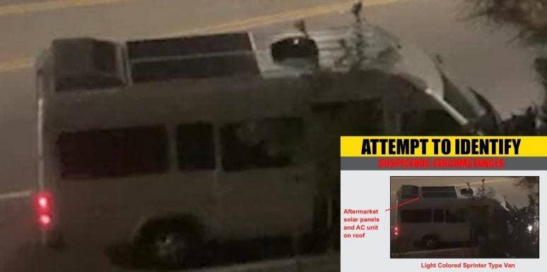 Video Woman Kidnapped Santa Clarita Van