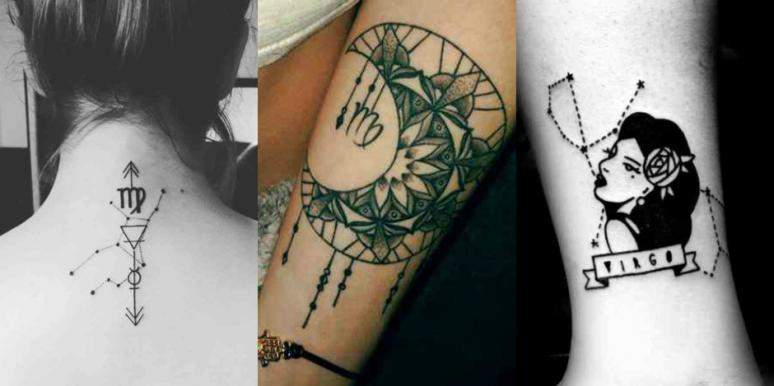 25 Best Zodiac Tattoos, Virgo Symbols And Astrological