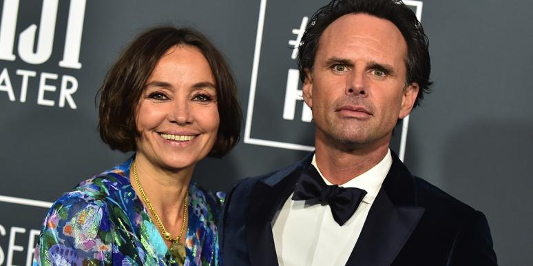 Nadia Conners and Walton Goggins