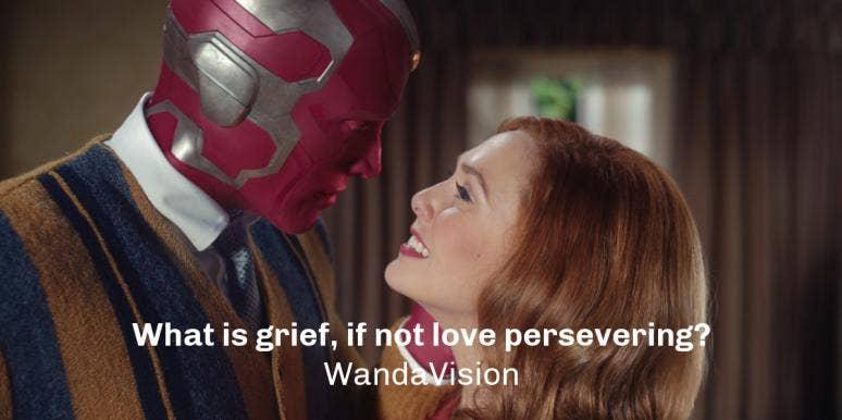 Wanda and Vision from WandaVision