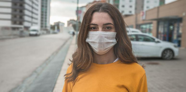 Why Wearing A Mask Can Trigger Panic & Shame For Trauma Survivors