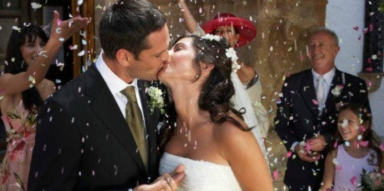 Wedding bride oops