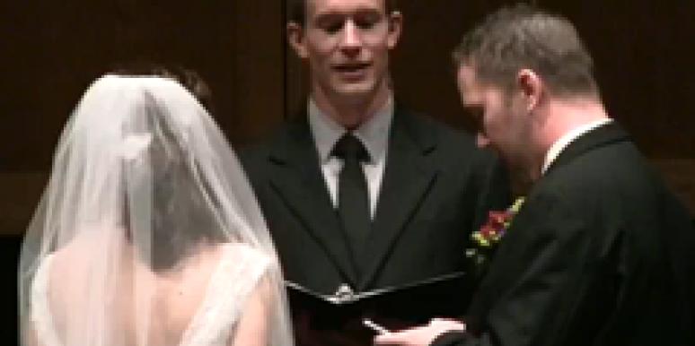 using twitter during wedding