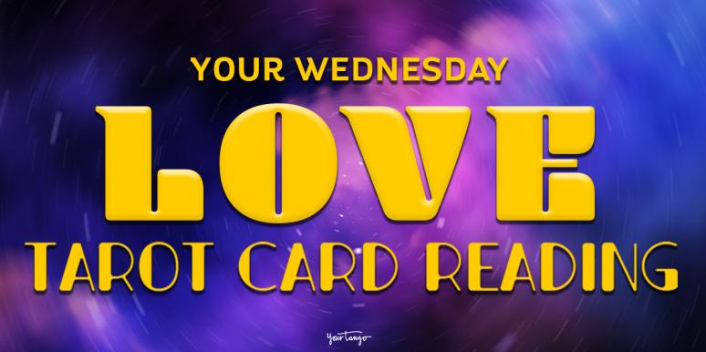 Today's Love Horoscopes + Tarot Card Readings For All Zodiac Signs On Wednesday, April 22, 2020