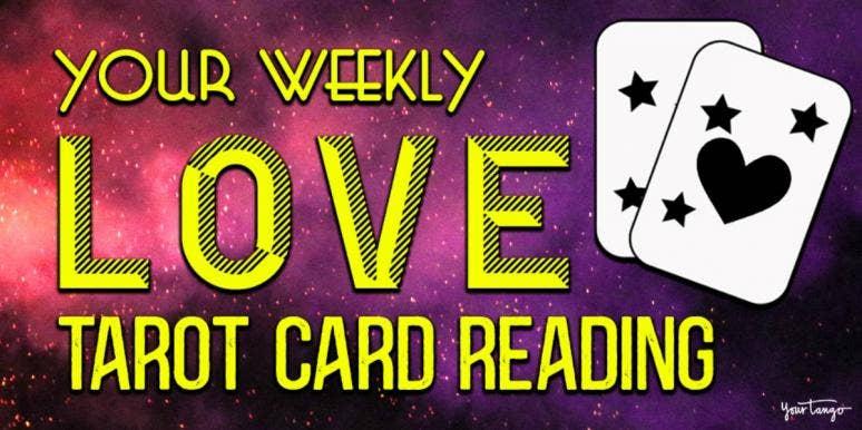 weekly love horoscope tarot card reading