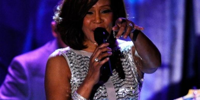 Family & Friends Mourn Whitney Houston At Her Funeral