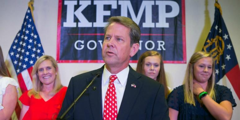who is Brian Kemp's wife marty kemp