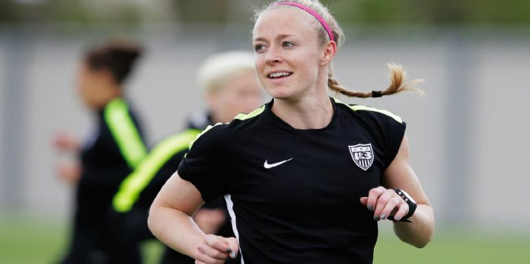Who Is Becky Sauerbrunn? New Details On The U.S. Women's Soccer Defender Competing In The World Cup