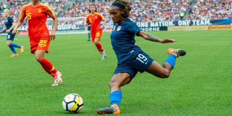 Who Is Crystal Dunn? New Details On The U.S. Women's Soccer Defender Competing In The World Cup