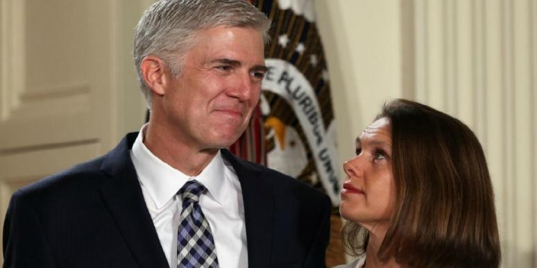 Who is Neil Gorsuch's wife