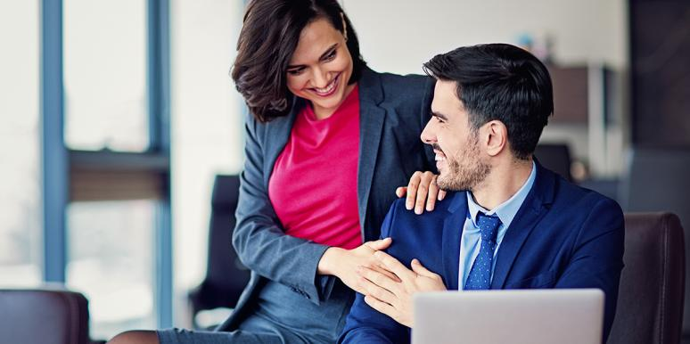 workplace romance flirting cheating