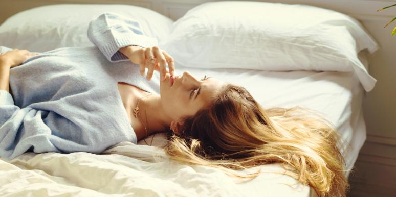 woman dealing with difficult Saturn transits