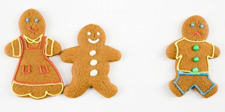 sad breakup gingerbread