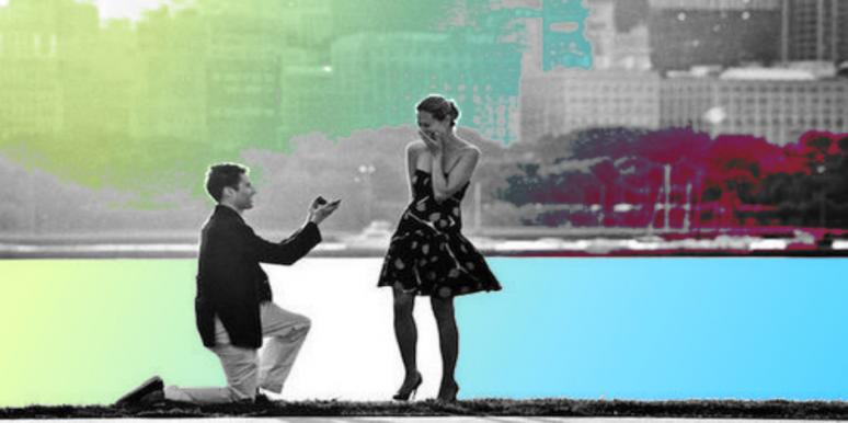 A woman who proposes must be super-desperate, right?