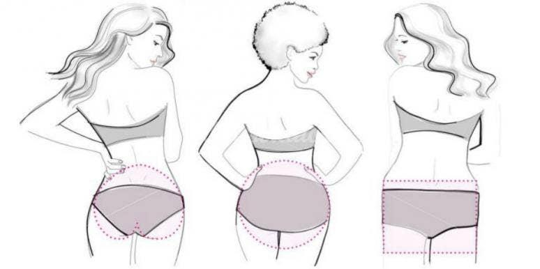 butt shape