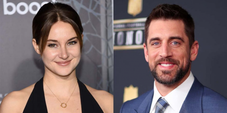 Shailene Woodley And Aaron Rodgers 'Got Some Of The Sticky Bits Out Of The Way Early'
