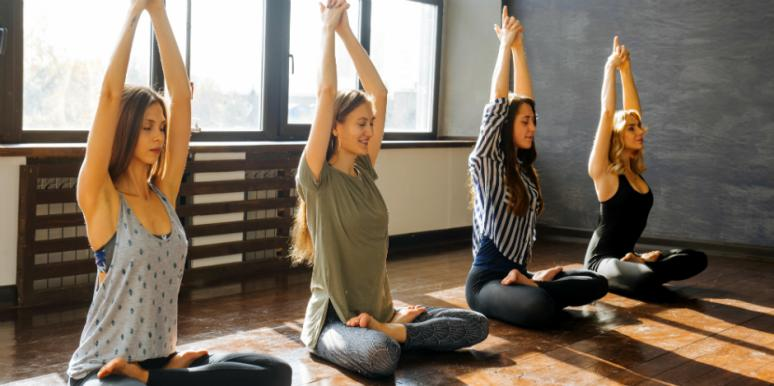 4 Easy Yoga Poses That'll Ease Your Period Cramps