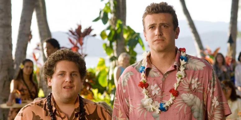 Jonah Hill and Jason Segel from Forgetting Sarah Marshall