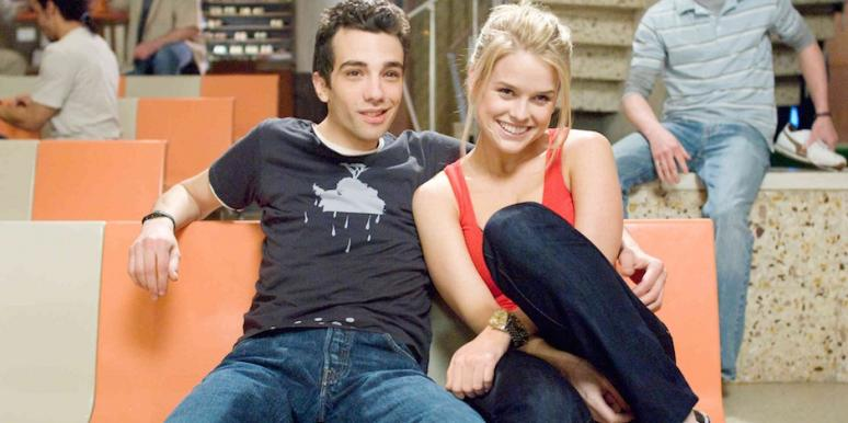 Jay Baruchel and Alice Eve from She's Out of My League