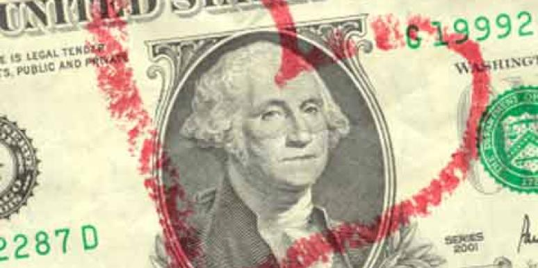 dollar and heart