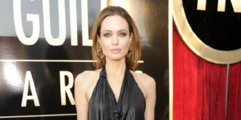 Angelina Jolie Black Dress