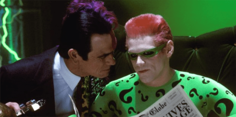Celebrity Feuds, Batman Forever, Jim Carrey