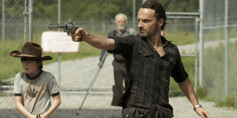 Andrew Lincoln as Rick Grimes from The Walking Dead AMC