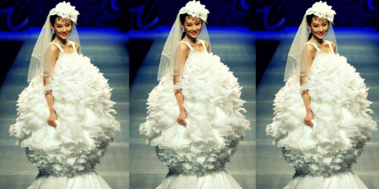 unusual wedding dress | YourTango