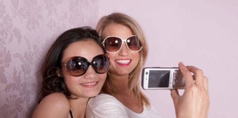 friends taking photo