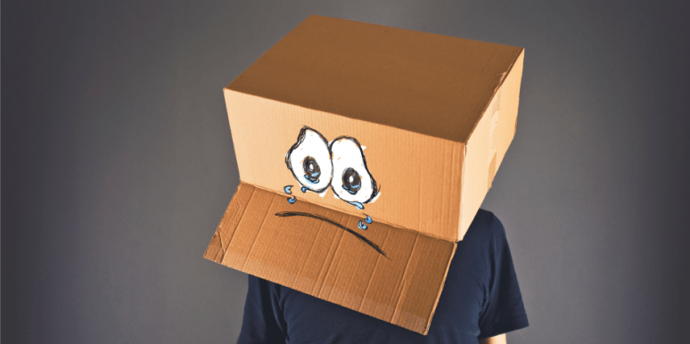 Sad Box Man