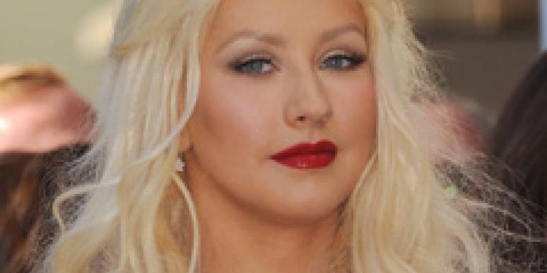 christina aguilera getting divorced for her kid