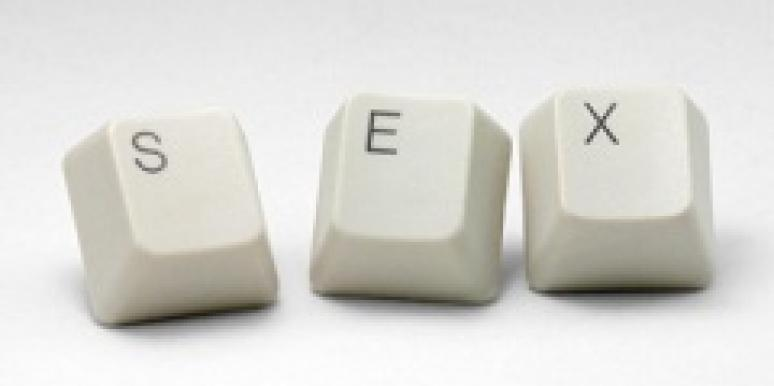 Keyboard spelling out sex