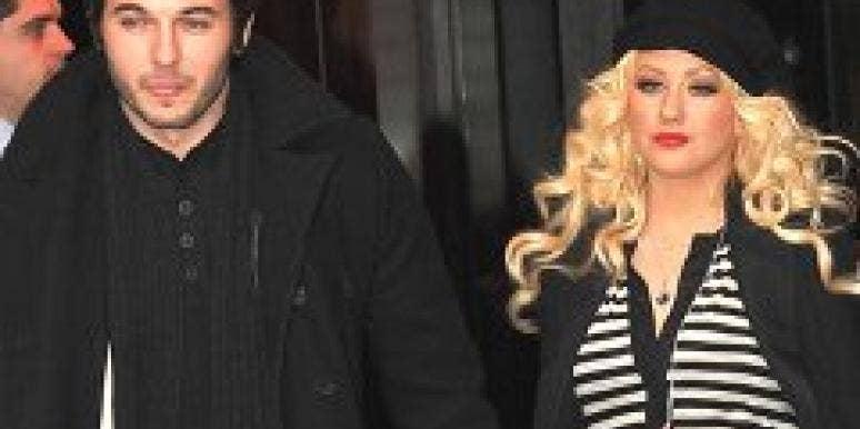 Christina Aguilera and Matt Rutler.