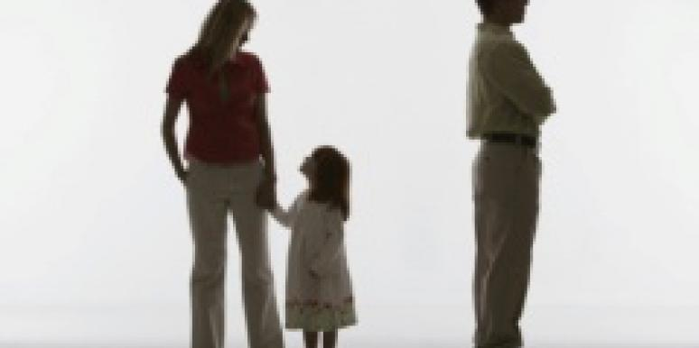 child chooses mom over dad
