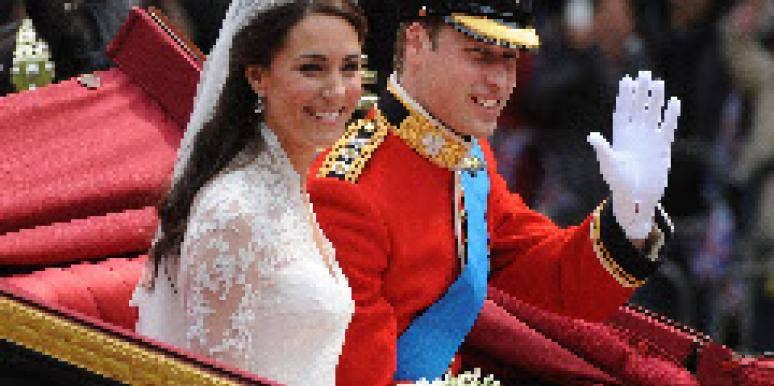 Prince William and Kate Middleton at Royal Wedding