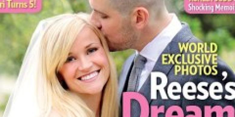 Reese Witherspoon and Jim Toth People Magazine cover