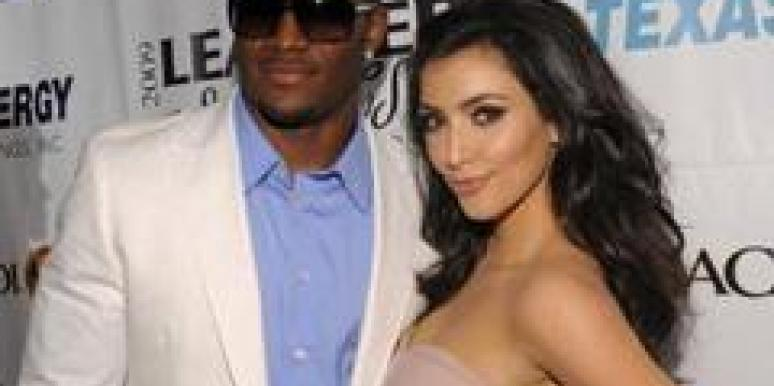 Reggie Bush Kim Kardashian