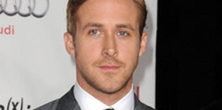 Ryan Gosling on the red carpet.