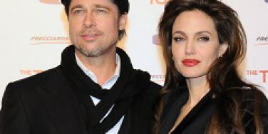 Brad Pitt and Angelina Jolie attend 'The Tourist' premiere in Rome.