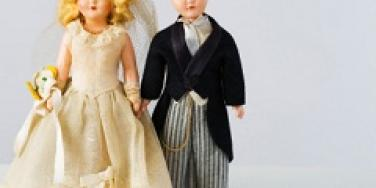 Bride and Groom Doll