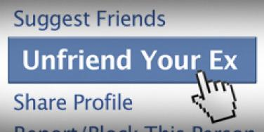 unfriend your ex button